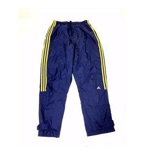Adidas Blue Yellow Track Pants Vintage 2001 Large